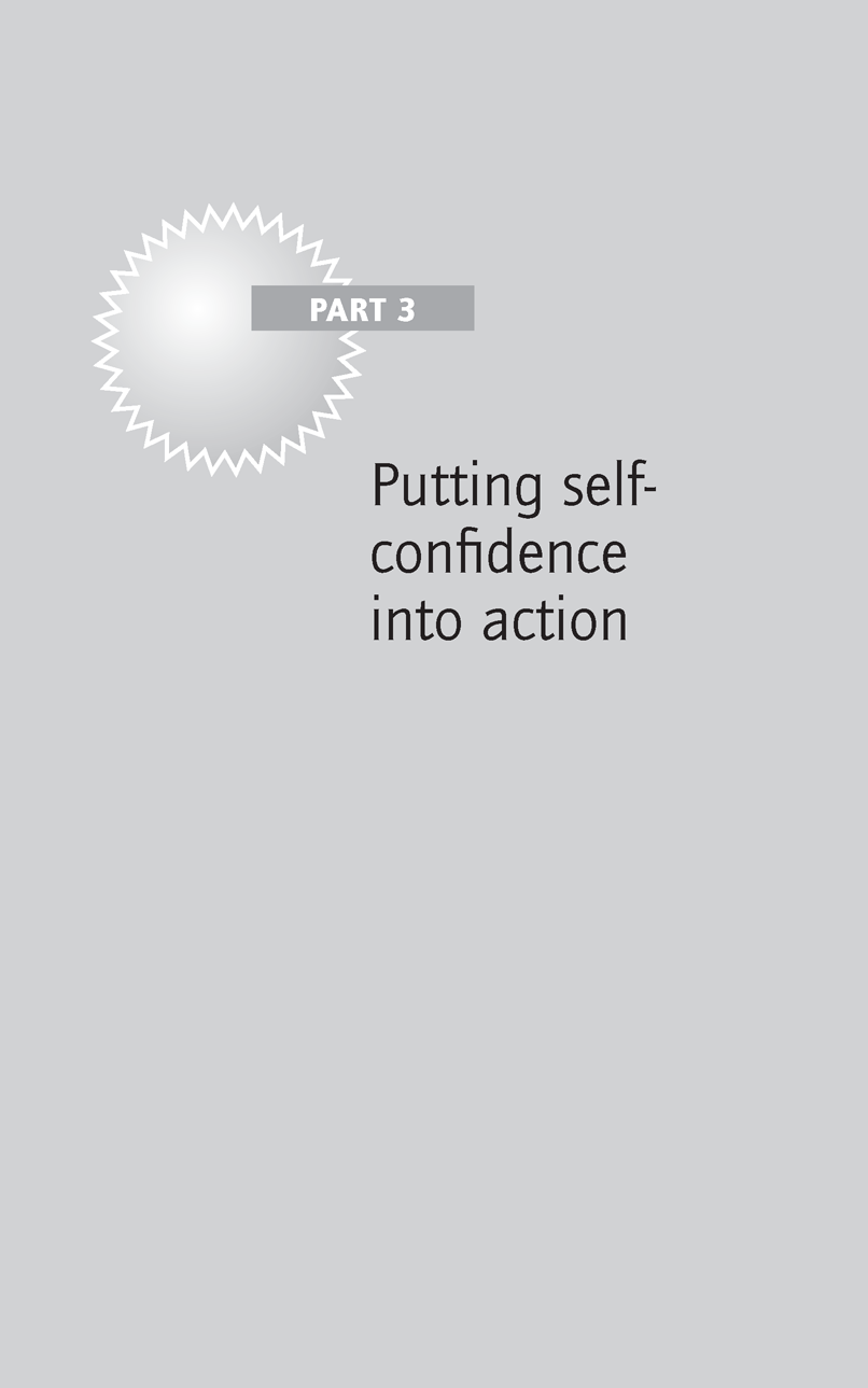Putting self-confidence into action