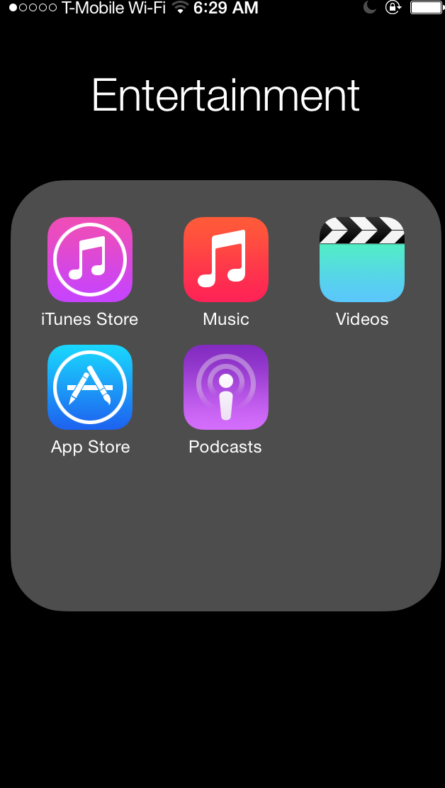 iOS's unbundled iTunes apps