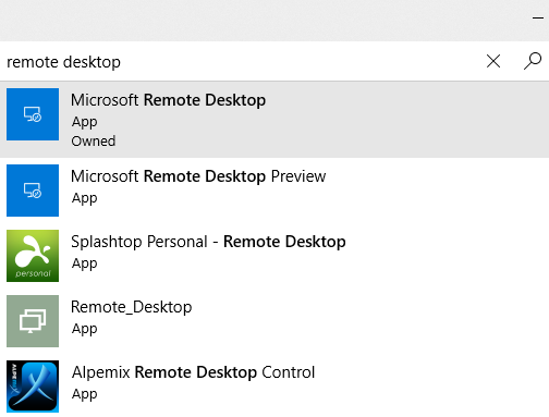 Microsoft Remote Desktop app - Installing and Configuring Windows 10