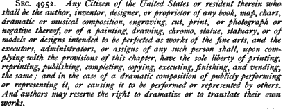 Copyright eligibility in 1870