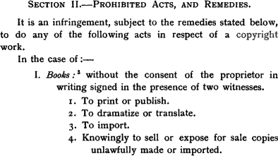1902 excerpt on copyright infringement of books