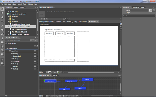 Blend 3/SketchFlow - Introducing  NET 4 0: with Visual
