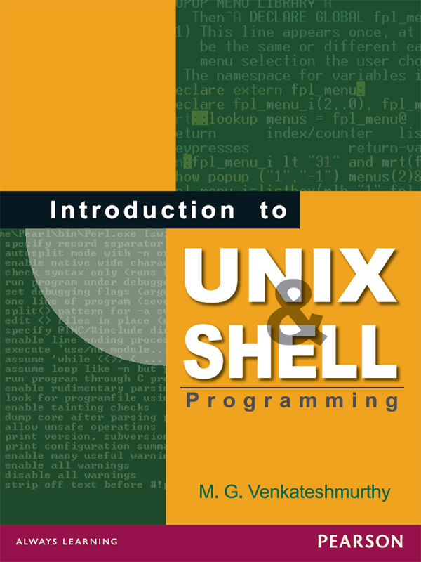 Cover image for Introduction to UNIX and Shell Programming