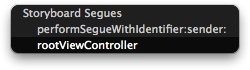 Setting a view controller as the root of a navigation controller