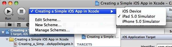1 1  Creating a Simple iOS App in Xcode - iOS 6 Programming