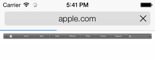 1 24  Loading Web Pages with UIWebView - iOS 7 Programming Cookbook