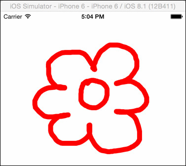Drawing the Flower Petals - iOS® 8 for Programmers: An App-Driven