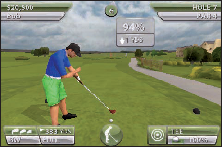 The graphics and detail in Tiger Woods PGA Tour are outstanding.