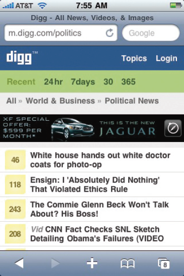 Digg.com: The world reads the Web so you don't have to.