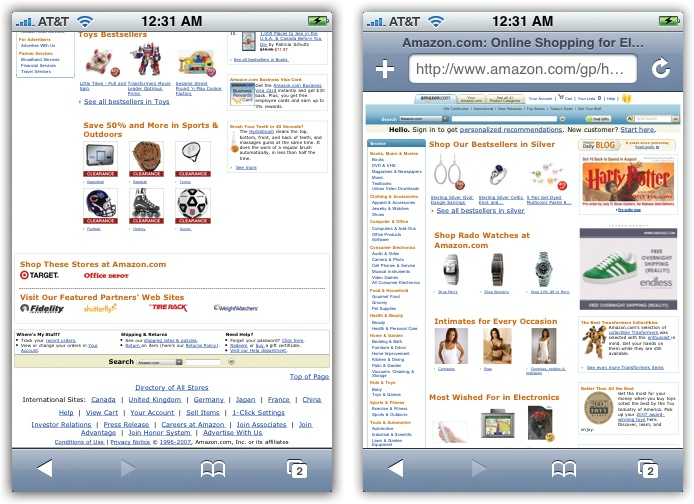 The Address Bar - iPhone: The Missing Manual [Book]