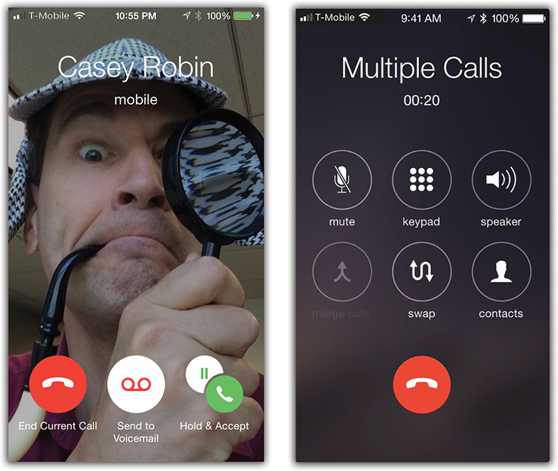 4  Phone Calls & FaceTime - iPhone: The Missing Manual, 11th Edition
