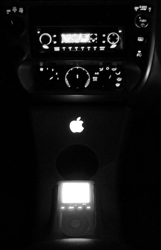 The iPod at night