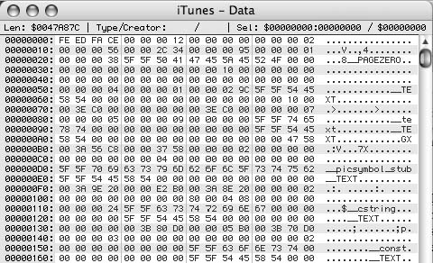 The code that makes iTunes tick