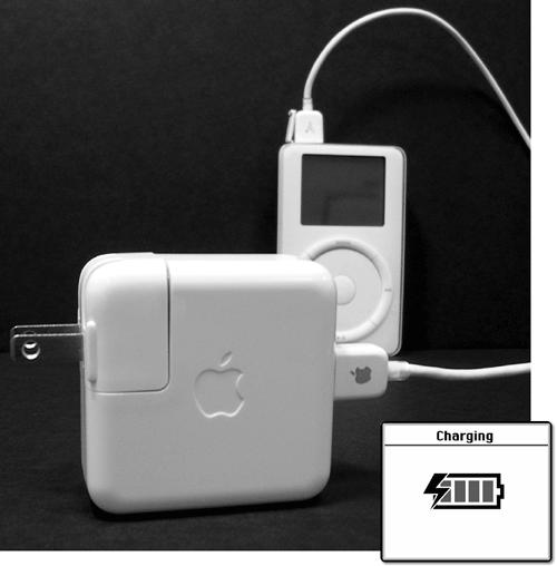 Charging the Battery - iPod & iTunes: The Missing Manual, Second ...