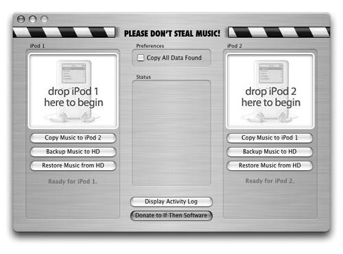 Pod 2 Pod offers an easy-to-understand way to make a clone of one iPod and copy it to another. It's ideal for those of you who have too many iPods lying around the house and want all of them to be exactly the same.