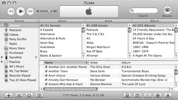 Your Very First Sync - iPod & iTunes: The Missing Manual