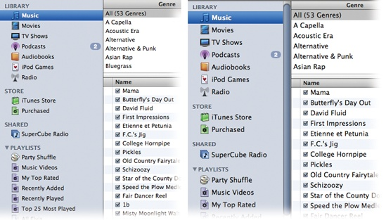 how to change the order of songs in itunes