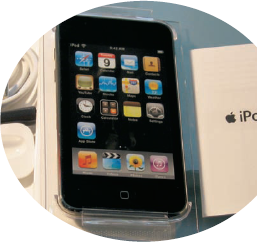 Powering Up Your iPod touch