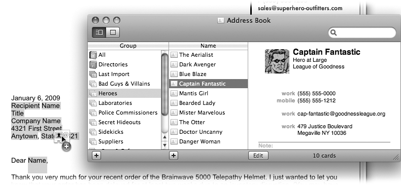 Your First Word-Processing Document - iWork '09: The Missing