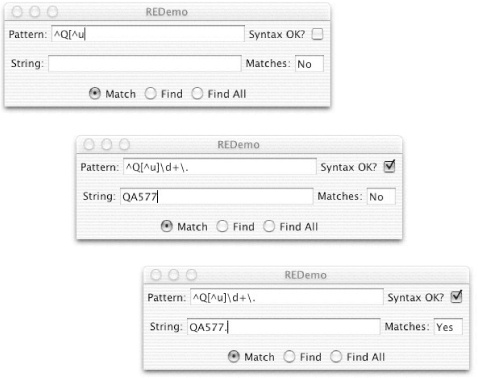 4  Pattern Matching with Regular Expressions - Java Cookbook
