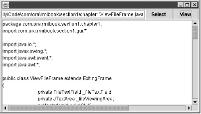 The ViewFile application
