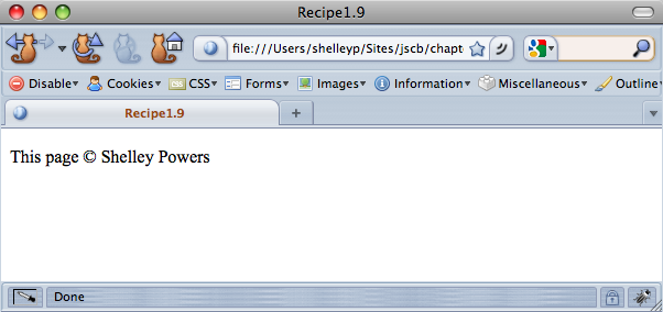 18 Inserting Special Characters Javascript Cookbook Book