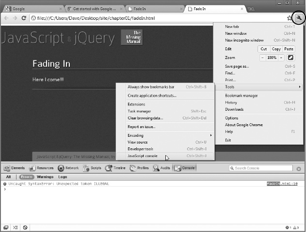 1  Writing Your First JavaScript Program - JavaScript & jQuery: The