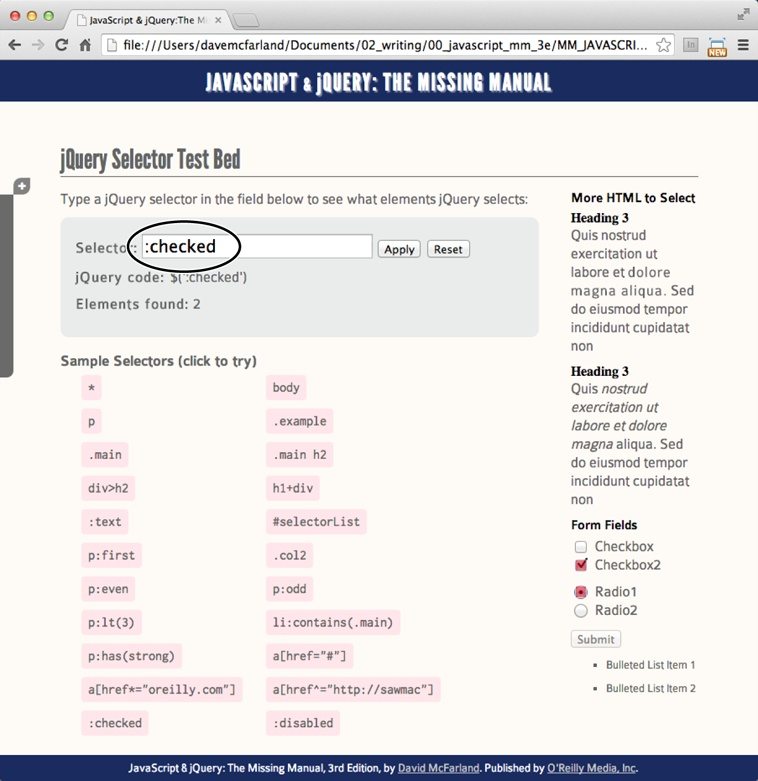 4  Introducing jQuery - JavaScript & jQuery: The Missing