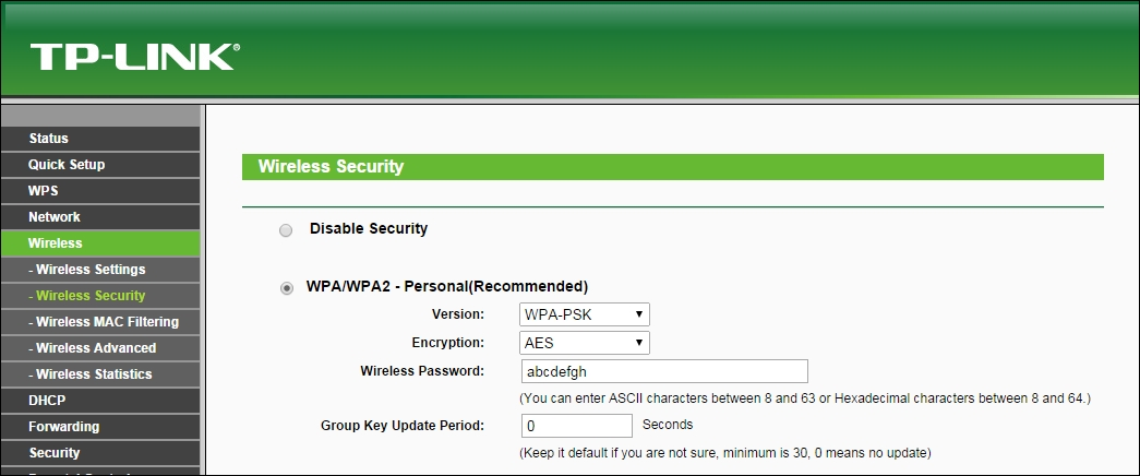 Time for action – cracking WPA-PSK weak passphrases