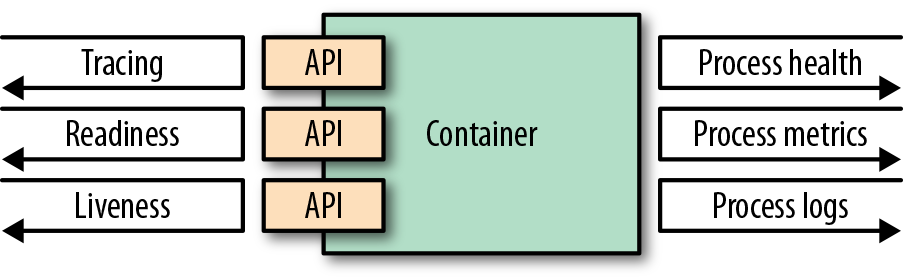 Container observability options