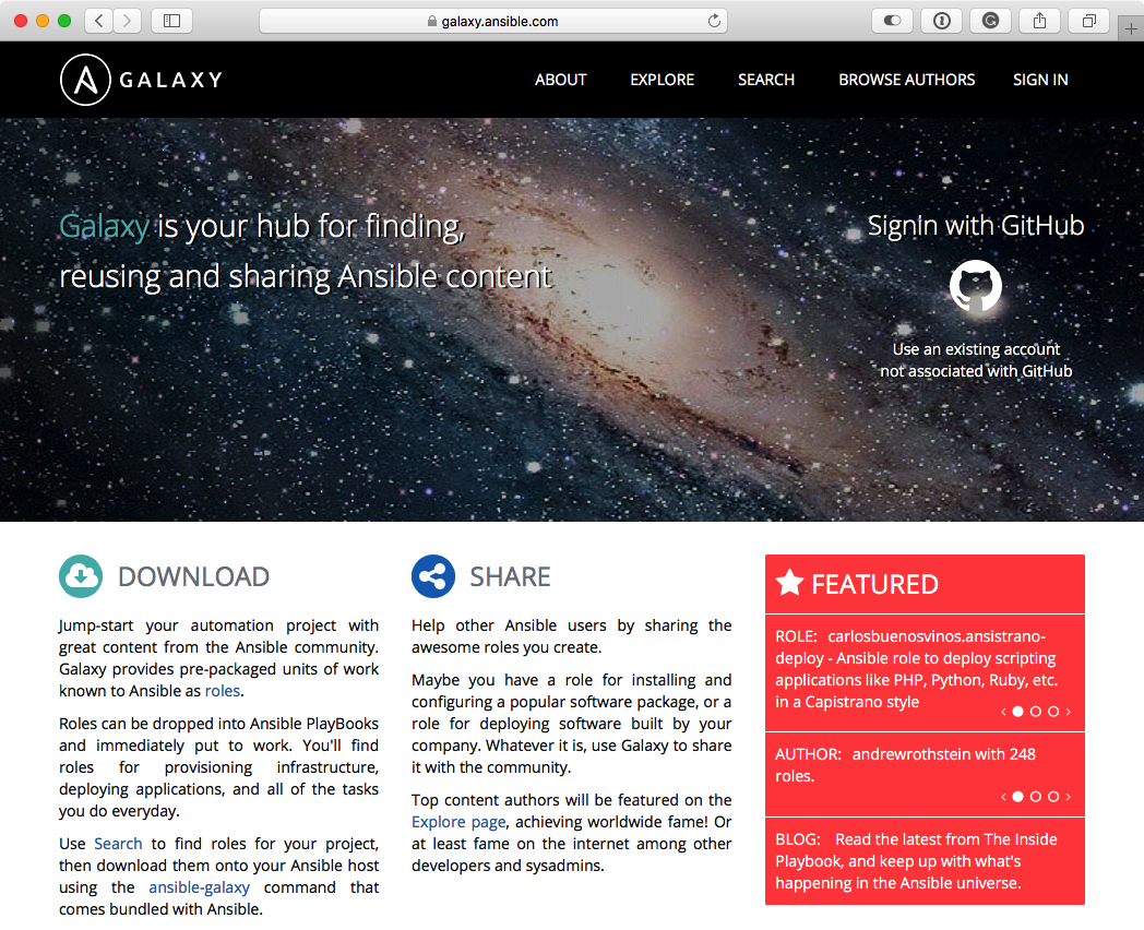 Introduction to Ansible Galaxy - Learn Ansible [Book]