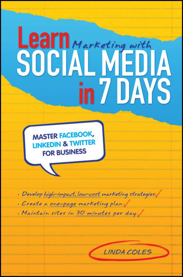 Cover Learn Marketing With Social Media In 7 Days Master