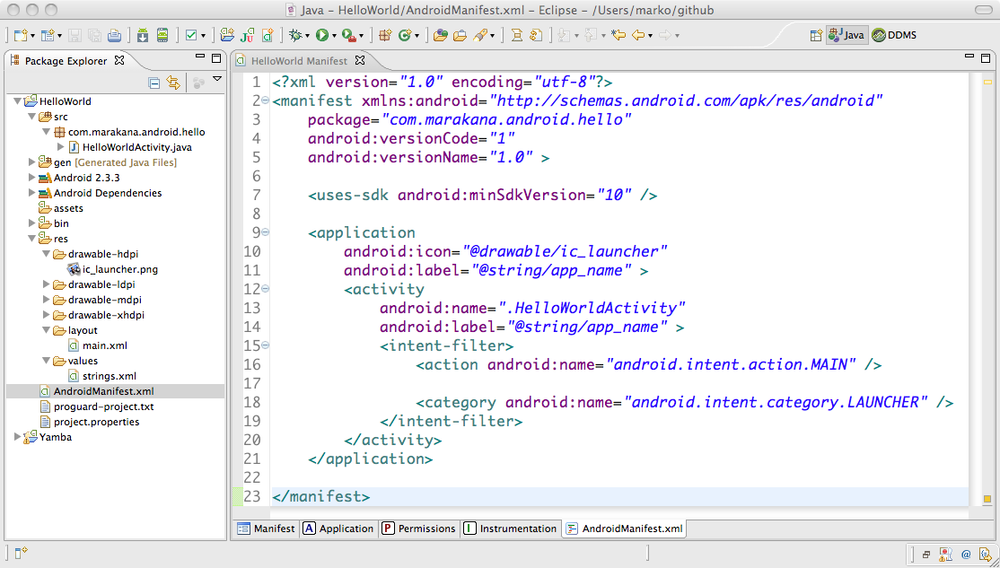 4 Installing And Beginning Use Of Android Tools Learning Android