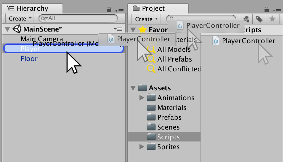 unity player controller