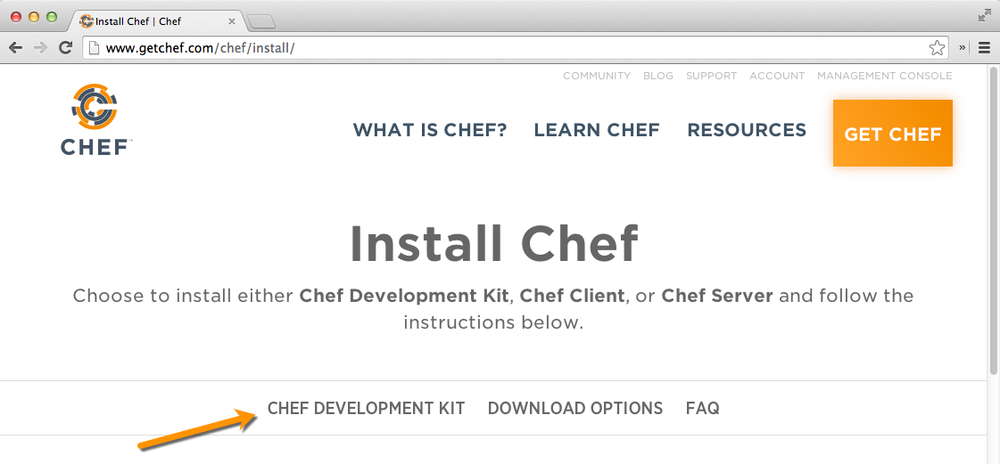 LearningCheff: Chapter 2  Configure Your Chef Development