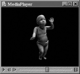 Image of the dancing baby AVI