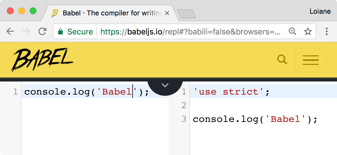 Using Babel js - Learning JavaScript Data Structures and
