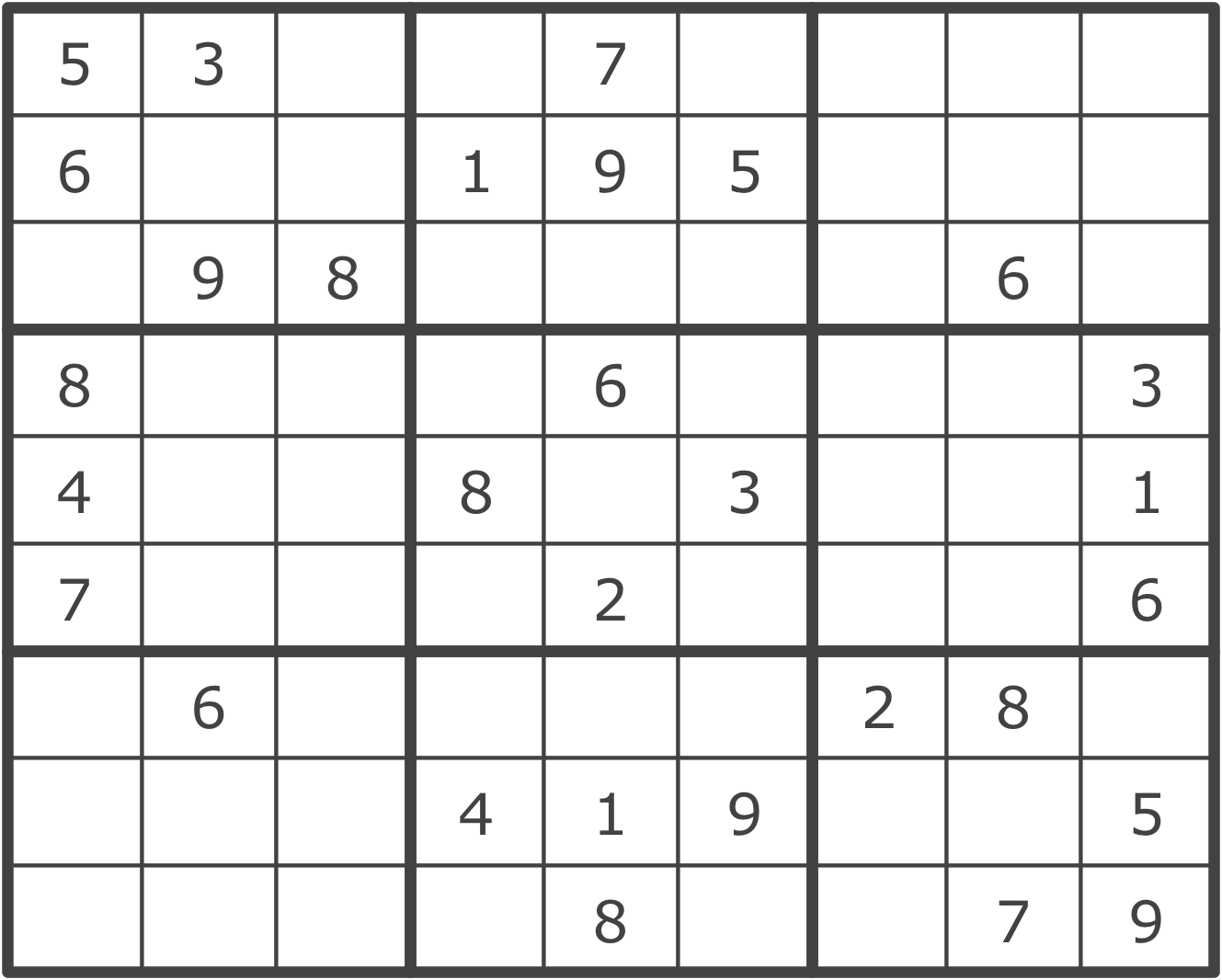 sudoku solver learning javascript data structures and algorithms