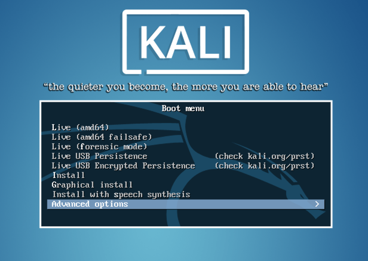 1  Foundations of Kali Linux - Learning Kali Linux [Book]