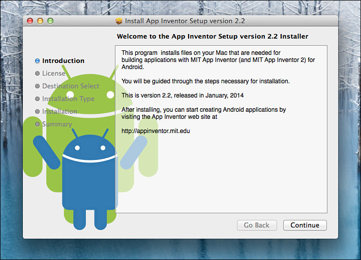 The Android Emulator - Learning MIT App Inventor: A Hands-On