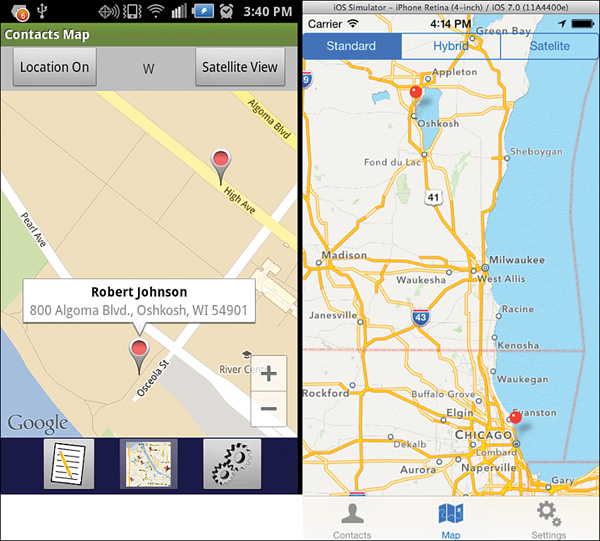 Map screen learning mobile app development a hands on guide to with safari you learn the way you learn best get unlimited access to videos live online training learning paths books interactive tutorials and more gumiabroncs Image collections
