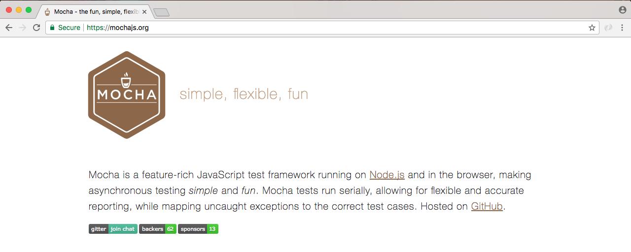 Mocha – the testing framework - Learning Node js Development [Book]