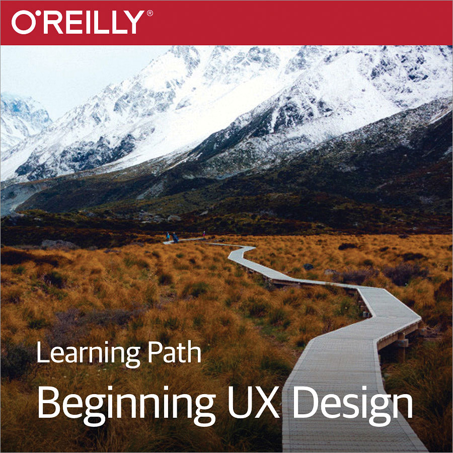 cover for Learning Path: Beginning UX Design