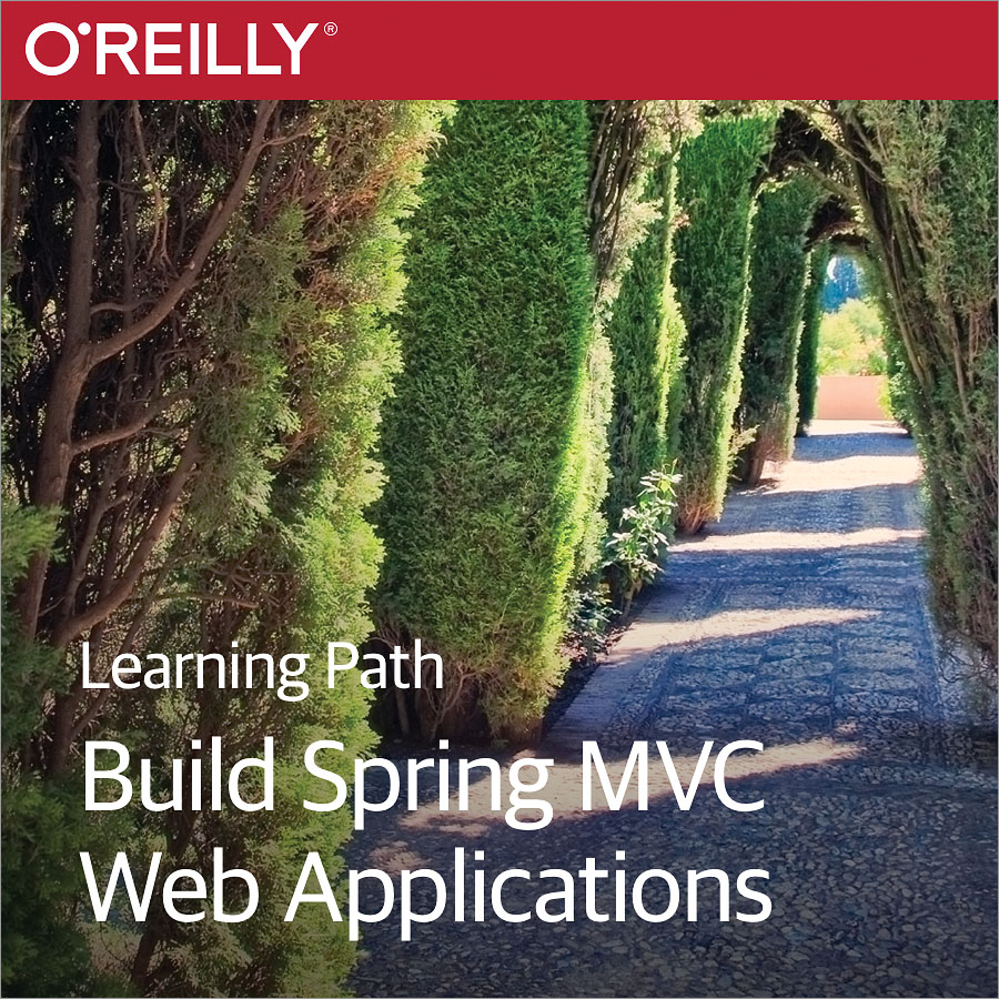 cover for Learning Path: Build Spring MVC Web Applications