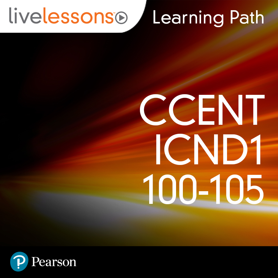 cover for Learning Path: CCENT ICND1 100-105