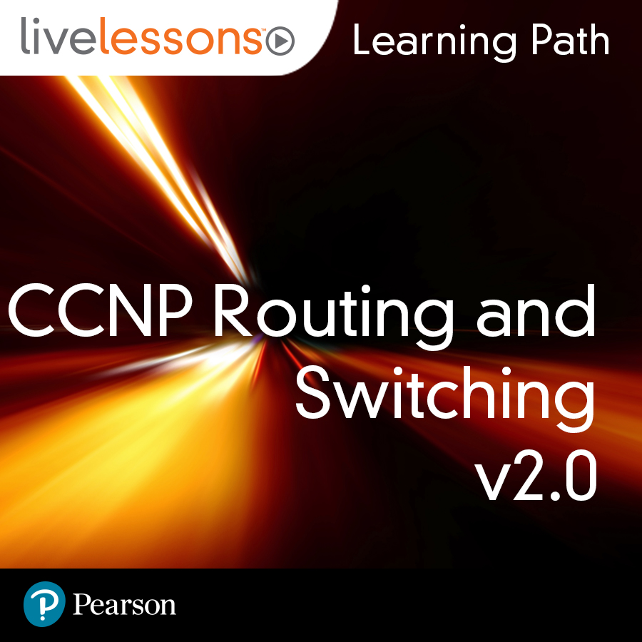cover for Learning Path: Cisco CCNP Routing and Switching v2.0
