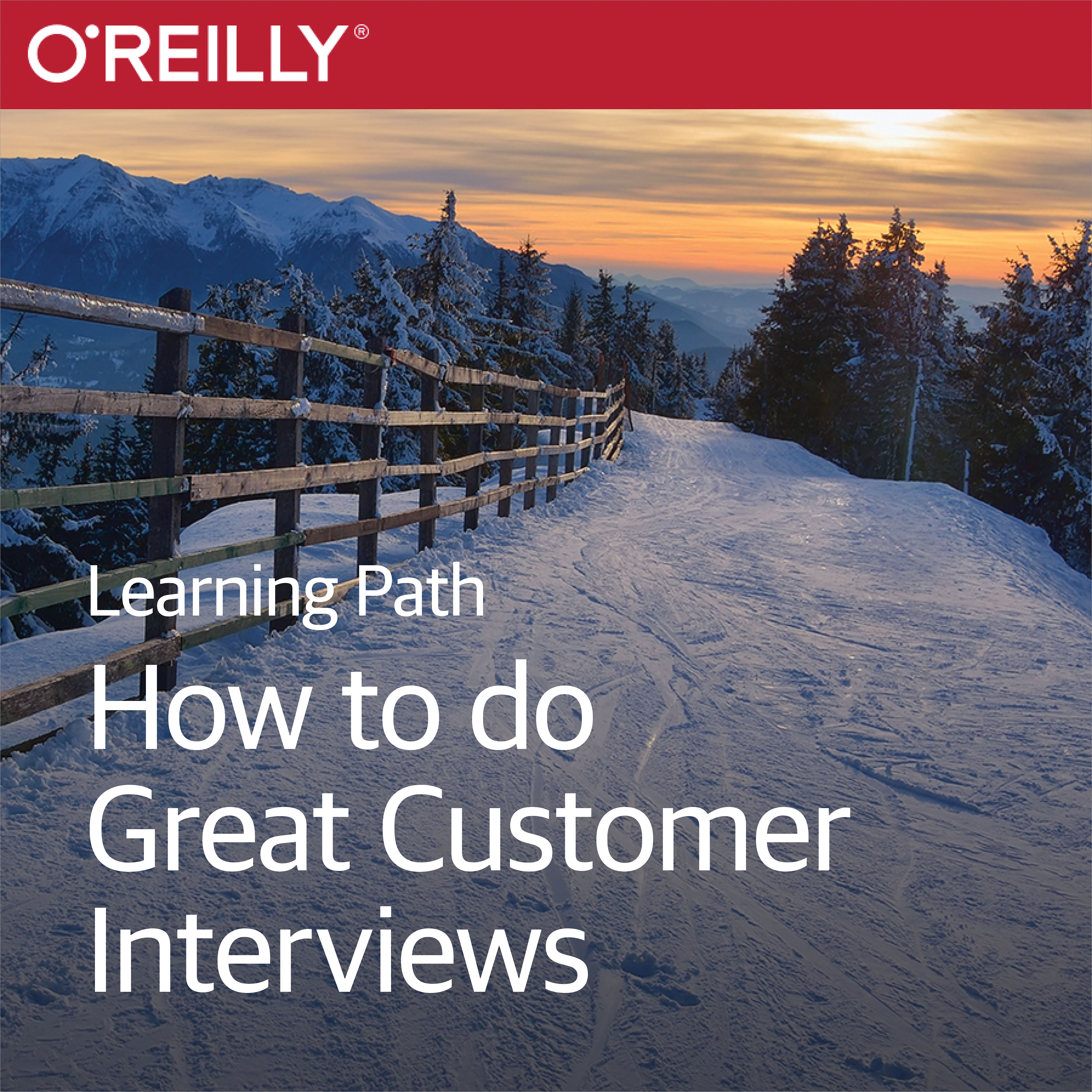 cover for Learning Path: How to Do Great Customer Interviews