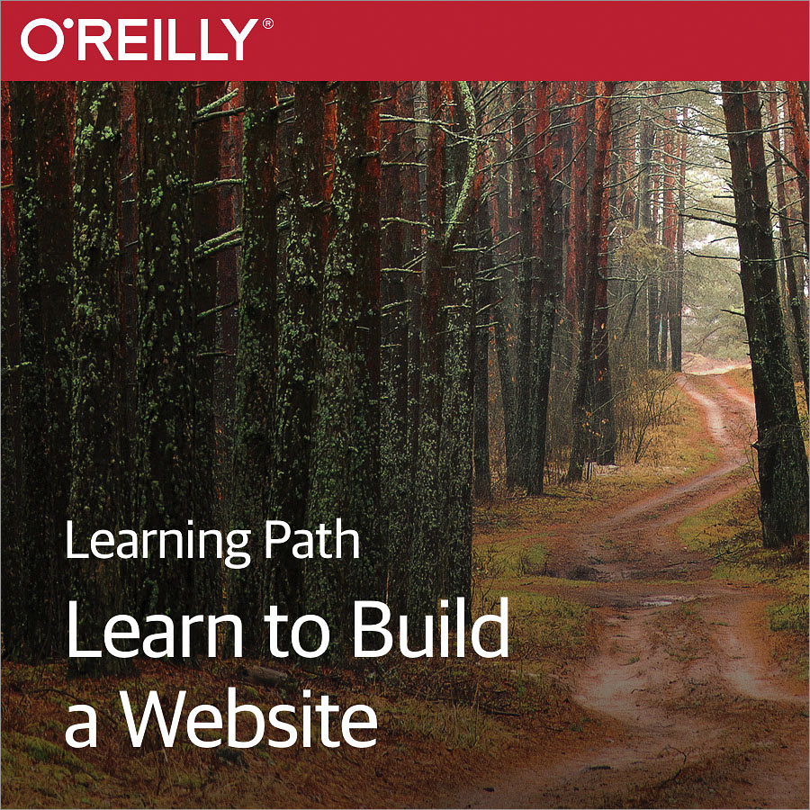 cover for Learning Path: Learn to Build a Website