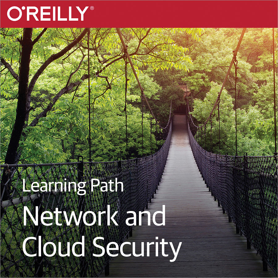 cover for Learning Path: Network and Cloud Security