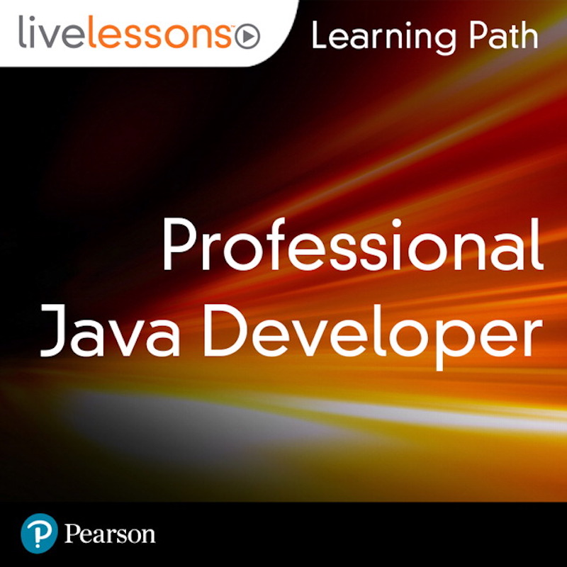 cover for Learning Path: Professional Java Developer